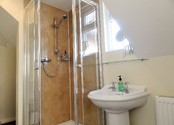 Private bathroom for double room with separate bathroom - B&B Alcuin Lodge